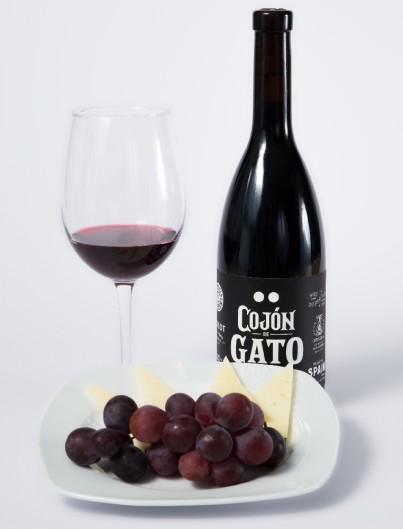 Vino Cojón de Gato Tinto Somontano