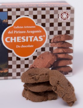 Galletas Chesitas de Chocolate