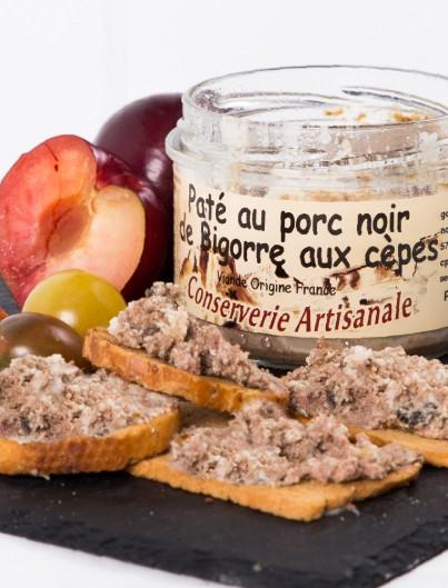 Paté Au Porc Noir de Bigorre aux Cèpes