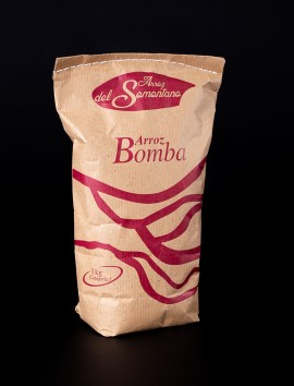 Arroz Bomba del Somontano