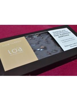 Turrón LOA Chocolate con Almendra Marcona 300gr