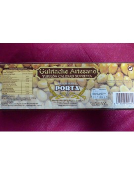 Guirlache Artesano Almendra Porta 300gr