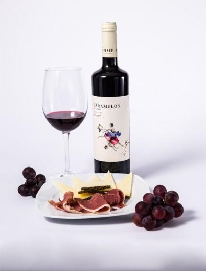 Caramelos de Obergo Vino Tinto Somontano