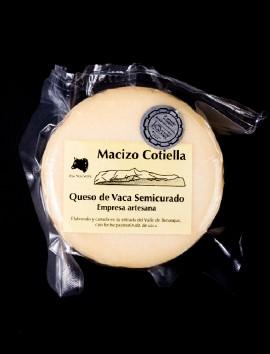 Queso de Vaca Semicurado Macizo Cotiella
