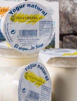 Yogur Natural de Sieso Villa Villera