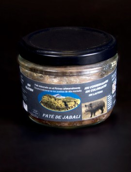 Paté de L'Ainsa de Jabalí