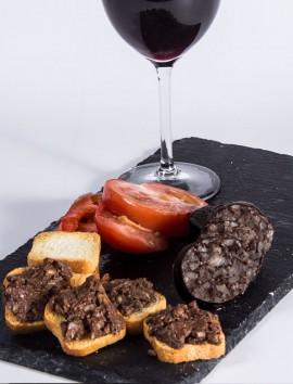 Paté de L'Ainsa de Morcilla con Piñone