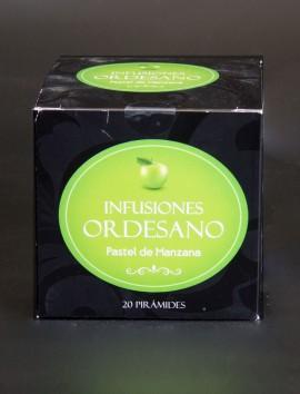 Infusión Ordesano Pastel de Manzana