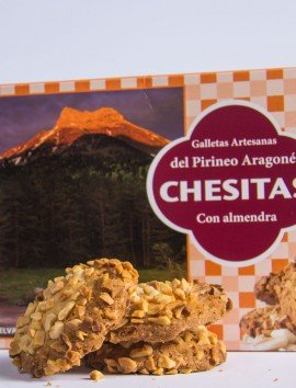 Galletas Chesitas con Almendra