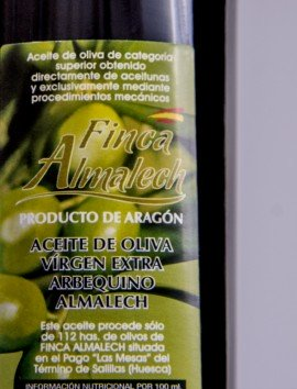 Aceite de Oliva Virgen Extra Almalech
