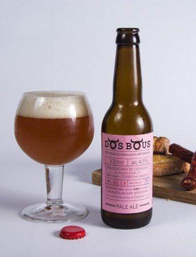 Pale Ale Dos Bous Cerveza Artesanal