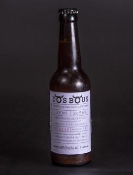 Brown Ale Dos Bous Cerveza Artesanal