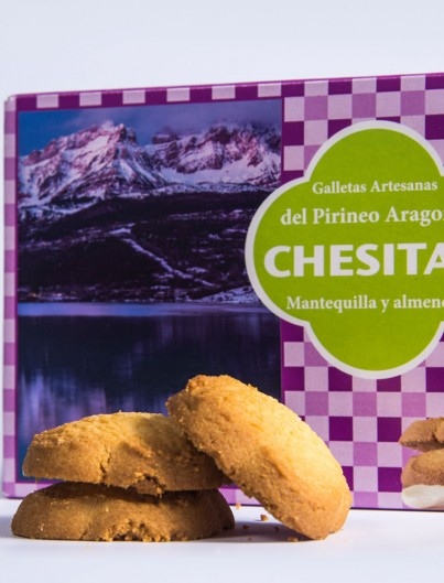 Galletas Chesitas Mantequilla y Almendra