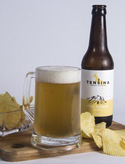 Cerveza Tensina Peña Blanca Witbier