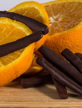 Palitos de Naranja de Chocolates Pallás