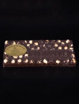 Tableta Chocolate Negro y Avellanas de Chocolates Pallás