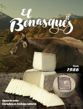 Queso Curado de Vaca El Benasqués
